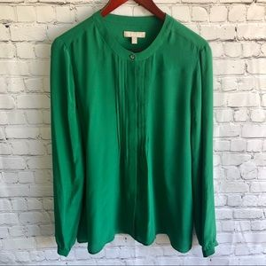 BANANA REPUBLIC Button Down Blouse Size Large
